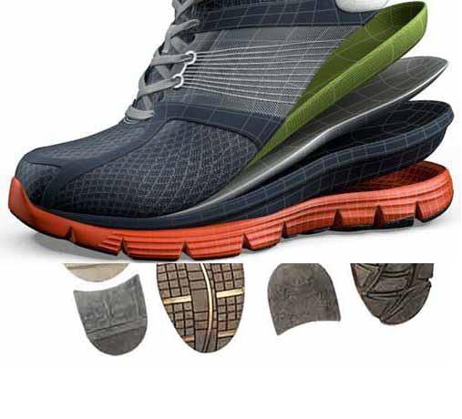 وبژگی های انواع زیره کفش موجود در بازار